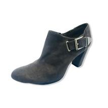 Aerosoles Heelrest Womens Ankle Boots Brown Split Toe Side Zip Block Hee... - $26.72
