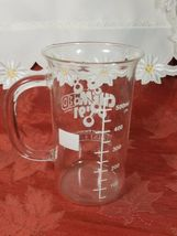 1991 University Of Wisconsin Oshkosh Chem-Ed Glass Beaker Mug image 3