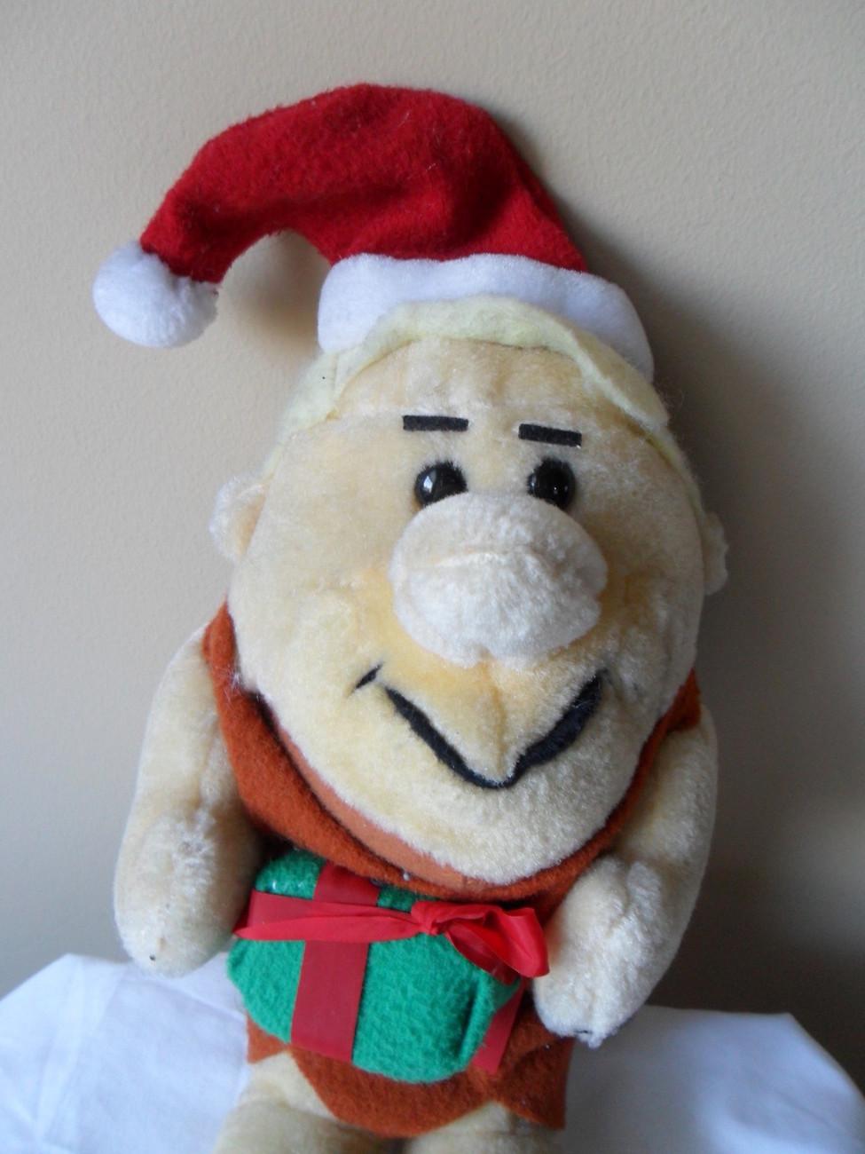 "Flinstones Barney Rubble 10"" Nanco 1989 Plush Stuffed Christmas Gift Toy"
