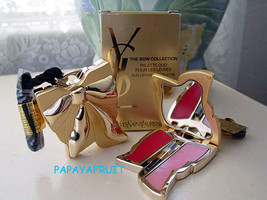 $65 Limited Ed YSL Bow Colletion Duo Lip Colour Palette - $35.63