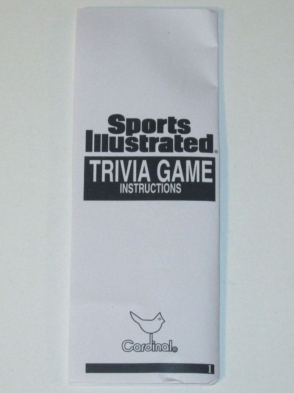 Sports Illustrated Trivia Game ~ Multi-Sport Edition!  Special Collector's NEW!!