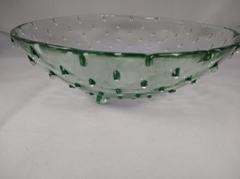 Funky 70's/80's spikey pressed glass bowl - $21.96