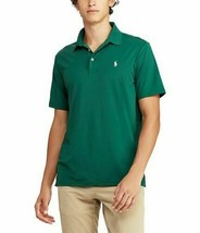 Polo Ralph Lauren Solid Jersey Performance Short-Sleeve Polo Green Mens L XL 2XL - $37.99
