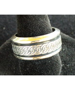 Celtic design Sterling Silver Spin Ring - $16.00