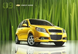 2009 Chevrolet AVEO brochure catalog US 09 Chevy 5 LS LT - $6.00