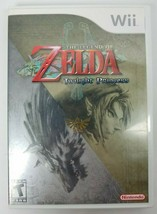 The Legend of Zelda Twilight Princess Nintendo Wii 2006 Complete and Tested - $12.86