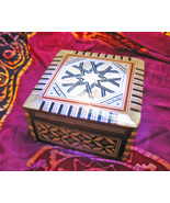 Haunted FULL MOON CHARGING CHEST 27X MAGNIFYING MAGICK MOSAIC WITCH Cassia4  - $33.92