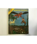 Monster Manual 1st Edition Advanced Dungeons and Dragons Very Good 4th P... - $100.00