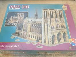 Wrebbit Puzz-3D Notre Dame de Paris 952 Piece Puzzle Sealed--FREE SHIPPING! - $38.49