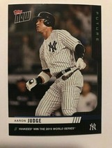 Aaron Judge 2019 Topps Now Futures World Series 20 Card Team Set /199 Ya... - $59.39
