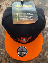 Crash Bandicoot Hat Snapback Numskull Orange Black Official Gaming Appar... - $22.76