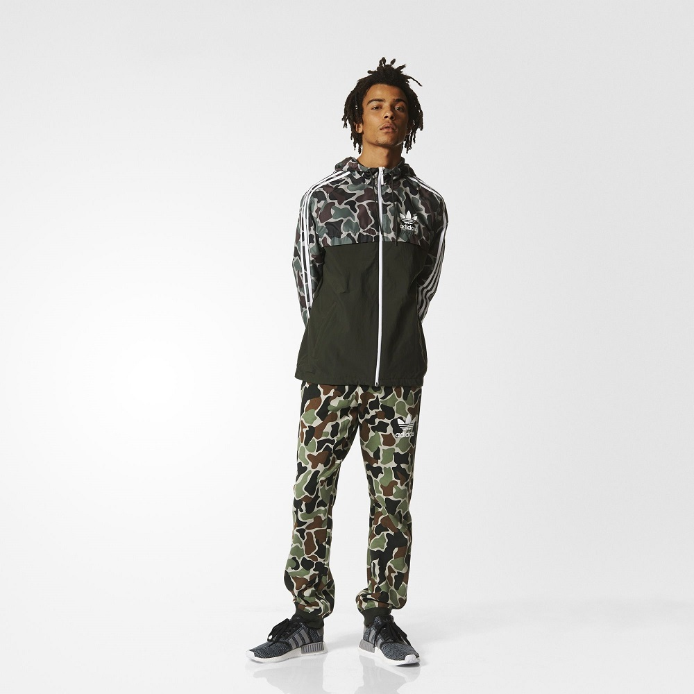 New Adidas Camo Rev Windbreaker Camouflage and 50 similar items