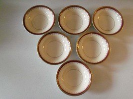 Homer Laughlin Pattern HLC3917  6 Fruit Or Dessert Bowls - $39.99