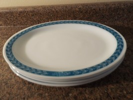 4 Fire King Anchor Hocking 350 Twelve Inch Platters--FREE SHIPPING - £21.54 GBP