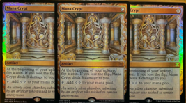 Mana Crypt Masterpiece Foil x3 REPACK Kaladesh Inventions MTG PLEASE READ - $6.99