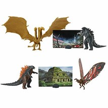 Godzilla King of Monsters Battlepack Featuring King Ghidorah and Mothra Set - $45.47