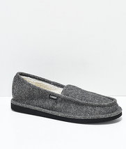 MEN'S GUYS Cords Draper Charcoal Slippers GRAY NEW $35 - $33.16 CAD