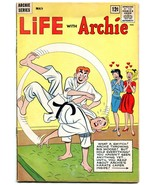 Life With Archie #20 1963 Betty-Veronica-karate-motorcycle gang G+ - $31.53