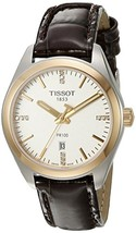 Tissot Women's T1012102603600 PR 100 Analog Display Swiss Quartz Brown W... - $444.13