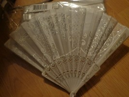 MSS Inc Wedding Fan (Set of 12 pcs) Hand Fan Folding Fan Wedding Favor B... - $14.84