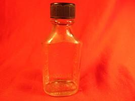Owens 3i Duraglas, Small Embossed Medicine Bottle, with Bakelite Cap. - $8.99