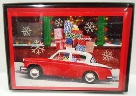 HALLMARK - GLITTER - 17 PCS. - CHRISTMAS - CARDS - ENVELOPES - BOXED - N... - $5.39