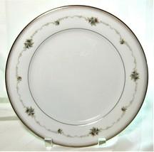 "4x Noritake Joanne Japan 6466 Porcelain DINNER Plates Floral Gold Accents 10.5"" - $31.49"