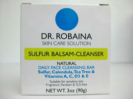 Dr Robaina Sulfur Balsam Cleanser Face Soap 90g - $10.48