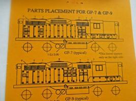 Gold Medal Models # 160-40 Life-Like Detail Set GP-18 GP-18 to GP-7 0r-9 (N) image 2