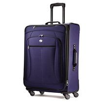 "American Tourister Luggage Pop Extra 25"" Spinner Suitcase 25"", Navy - $112.56"