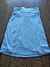 Hula Honey White Beach Cover Up Skirt Size Medium image 2