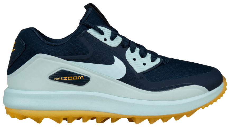 Primary image for NIKE AIR ZOOM 90 IT GOLF WOMAN SIZE 8.5 RETAILS NAVY NEW COMFORTABLE