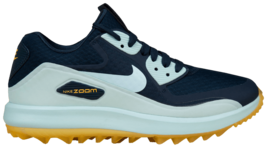NIKE AIR ZOOM 90 IT GOLF WOMAN SIZE 8.5 RETAILS NAVY NEW COMFORTABLE - $129.71