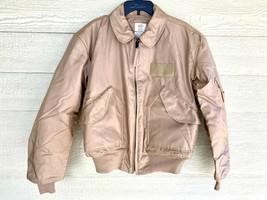 Usaf Tan Nomex Fire Resistant Cold Weather Flyers Men's Cwu-45/p Jacket ... - $262.35
