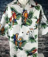 Pacific Legend Hawaiian Shirt Size 3XL Parrots McCaws Aloha Parrothead C... - $39.59