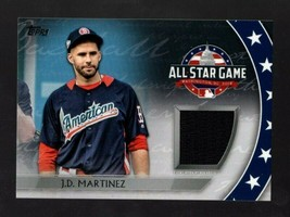 2018 Topps All Star Game J.D. Martinez Jersey Red Sox - $4.99