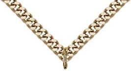 Crucifix - Gold Filled Medal Pendant - 0030 image 3