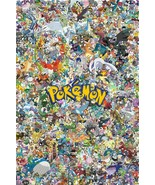 Pokemon Collage Poster   13x19 inch poster - $13.85