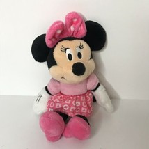"Disney Baby Minnie Mouse Plush Rattle 8"" - $11.87"