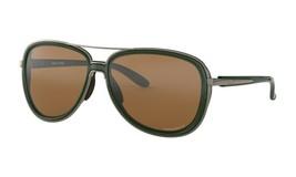 Oakley SPLIT TIME POLARIZED Sunglasses OO4129-0858 Forest W/ PRIZM Tungs... - $98.99