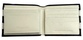 Tommy Hilfiger Men's Leather Wallet Passcase Billfold Navy Bone 31TL22X040 image 4