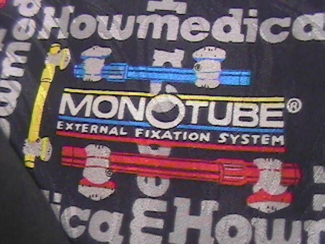 Trauma Ties Neck Tie Monotube External Fixation System Homemedica Silk