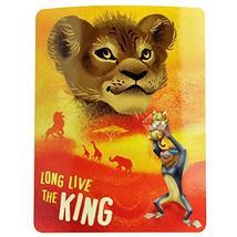Northwest Disney The Lion King Fleece Throw Blanket, 45 x 60, Multi Color - $14.84