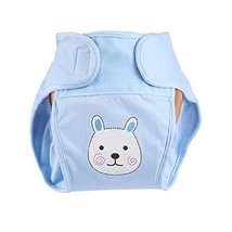 Lovely Rabbit Baby Leak-free Diaper Cover With Magic Tape (6-12 Months)