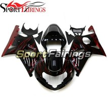 ABS Injection Fairings For Suzuki GSXR1000 K1 K2 2000 2001 2002 Black Da... - $402.04