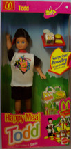 "8"" 1993 McDonalds Happy Meal TODD Doll w/Accessories Barbie's friend Mat... - $21.78"