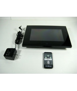 INSIGNIA NS-DPF8WA-09 Digital Photo Frame 8 inch LCD SCREEN - Used - $18.89