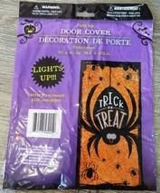 Halloween Door Cover Spider light up 30x60 - €3,53 EUR