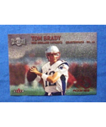 2000 Fleer Metal Football #267 Tom Brady [New England Patriots] Rookie RP - $5.00