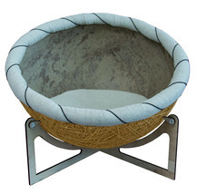 """Pet Bed Eco Chair-bed for pets  """"Nikolas"""" Yellow Bed for dog bed for cat - $350.00"""